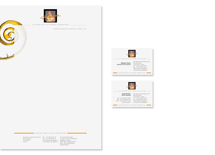 Tonnellerie Chassin Père & Fils | Logo & Corporate Design
