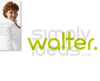 simply walter. simply ideas ...: Visitenkarte & Logo